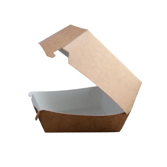 Pudełko na hamburgera małe kraft